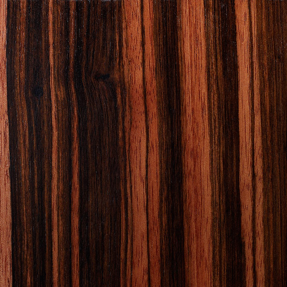 Macassar Ebony - Custom Furniture Veneer Sample 15.